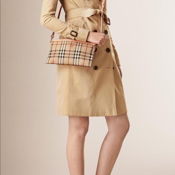 ae29e3a2950e Burberry Handbags - SOLD- Burberry Haymarket Check  Peyton  Crossbody